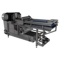 液压清洁器 / 固定式 / 用于食品工业 / 滚筒