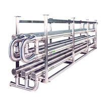 管内热交换机 / 液体/液体 / 用于食品工业