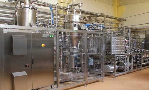 超高温巴氏灭菌器 / 用于奶制品 / 用于饮料产业 Combi APV